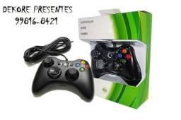 Controle Joystick Xbox 360 e PC com Fio