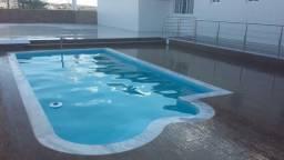 MB - Piscina de Fibra Instalada - piscina de 6 metros