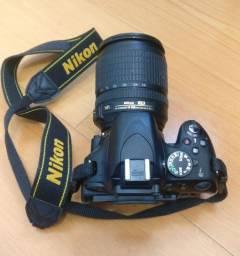 Camera Nikon D5100 Nikkor 18-105mm. Ótimo Estado e acessórios. Super preço