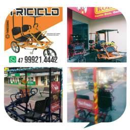 Aluguel de triciclos