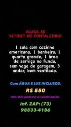 Aluga-se Kitinet Pontalzinho