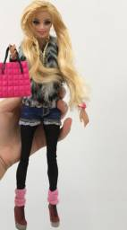 Boneca barbie style luxo pink