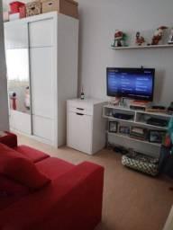Só 220 mil - Sala living com 48 m² - andar alto - Prédio de frente ao mar - Aparecida