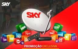 Tv Sky via satélite