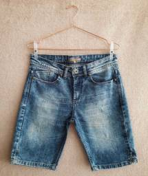 Bermuda jeans feminina da le lis blanc - brechó passione