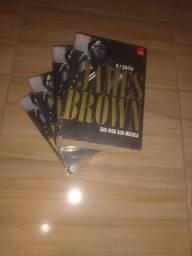 Livros vida de James Brown