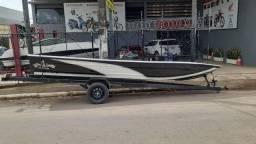 Barco de Alumínio 550mt + Reboque 6mt