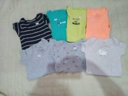 Lote de roupas Carters 6/18 meses