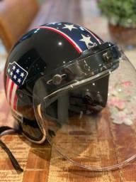 Capacete Custom Harley Davidson