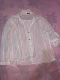 Blusa transparente NOVA
