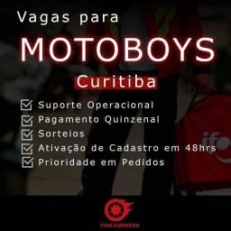 Título do anúncio: Vaga para motoboy