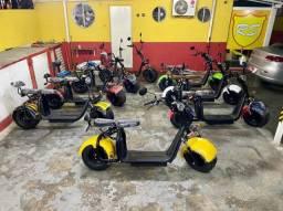 Scooter Elétrica Zero Km 2021 Com Varios Acessorios a Pronta Entrega