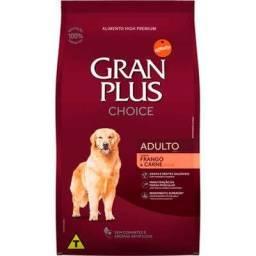 Gram Plus Choise adulto 20 kg por apenas 160 a vista