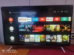 Título do anúncio: Tv 32 tcl Semp Android semi nova