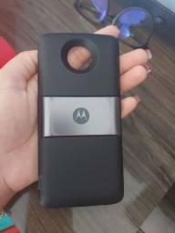 "Título do anúncio: Snap MotoZ3 Play "" Bateria Extra """