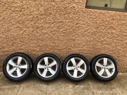 Vendo jogo de rodas com pneus goodride aro 16 !!!!!