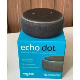 Título do anúncio: Echo Dot 3 Geração Com Alexa Smart Speaker Amazon Preto