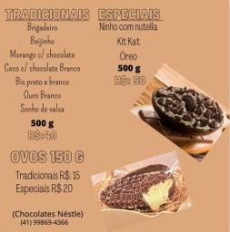 Ovos de colher chocolate Nestlé