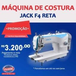 Máquina de costura reta industrial Jack F4 ? Entrega Grátis
