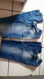 Título do anúncio: Calças jeans semi novas