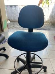 Título do anúncio: Cadeira Giratória Base Alta