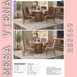 Título do anúncio: Mesa de jantar Viena b1