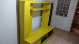 Título do anúncio: lindo rack na cor amarelo