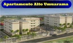 Apartamento 2 quartos com piscina, Alto Umuarama, Últimas unidades