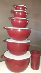 Coleção de Tupperware