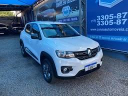 Título do anúncio: Renault kwid 2019 1.0 12v sce flex intense manual