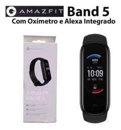 Amazifit Band 5 com oxímetro e Alexa - Original lacrado