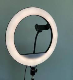 """Ring Light 10"""" com tripé de 2 Metros - Promoção Queima estoque!"""