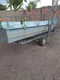 Título do anúncio: Vendo canoa de alumínio 6meteos