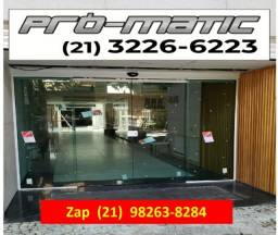 Título do anúncio: KIT Porta  Automatica Vidro / Aluminio - sensor movimento/senha/Biometria