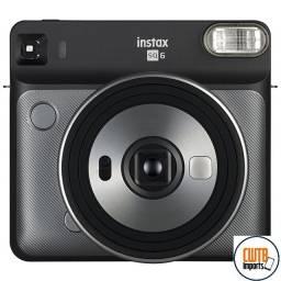 Câmera Fujifilm Instax SQ6 Graphite Gray - 12x Sem Juros
