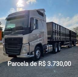Título do anúncio: Volvo FH 460   2020  6x2 / Bitrem Graneleiro + Contrato de serviço em Goiânia