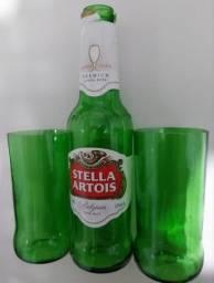 12 copos de garrafa stella artois