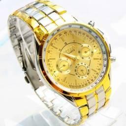 Relógio de Luxo, Para Negócios. Quartz Novo Masculino - Salvador Bahia