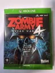 (Lacrado) Game Zombie Army 4 - Xbox One