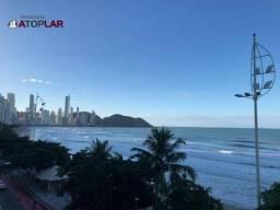 Apartamento com 3 suítes à venda, 117 m² por r$ 900.000 - frente mar centro - balneário ca