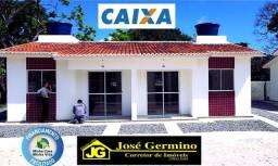 105 mil, casas em Igarassu! Zero de entrada. *