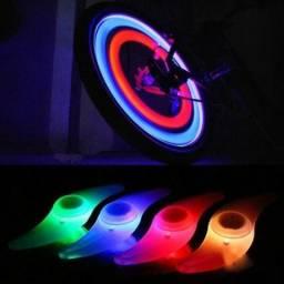 Peça led para decoração em raios de bicicleta