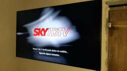 Tv 55 polegadas full HD ,monitor sansung , troco por moto
