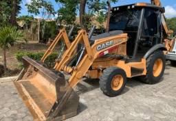 Retro Escavadeira Case 580n - 2015 - 4x4
