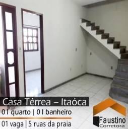 Casa Térrea, independente, a aproximadamente 5 Ruas da Praia de Itaóca