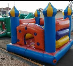 Pula pula castelo inflável