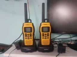 Radio comunicador + Alcance - Até 9,6km