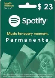 Spotify 1 ano de acesso
