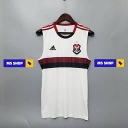 Camisa Flamengo 2 Branca G