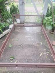 Camal De Ferro p/ Casal - 1,96m x 1,38m